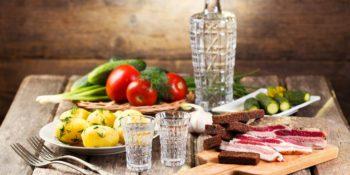 Как правильно закусывать алкоголь?